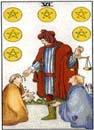 Lilla Arkanan Tarot mynt 6