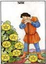 Lilla Arkanan Tarot mynt 7