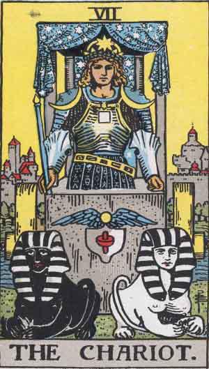Tarot. Die großen Arkana – Der Wagen