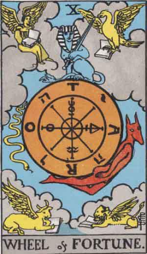 Tarot. Die großen Arkana – Das Schicksalsrad