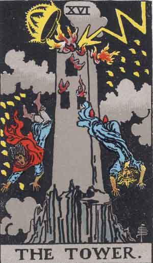 Tarot. Die großen Arkana – Der Turm