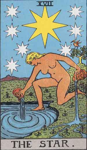 Tarot. Die großen Arkana – Der Stern