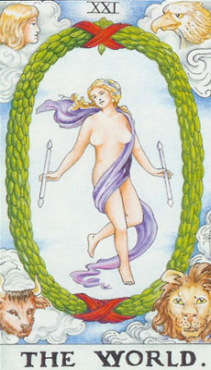 Tarot. Die großen Arkana – Die Welt