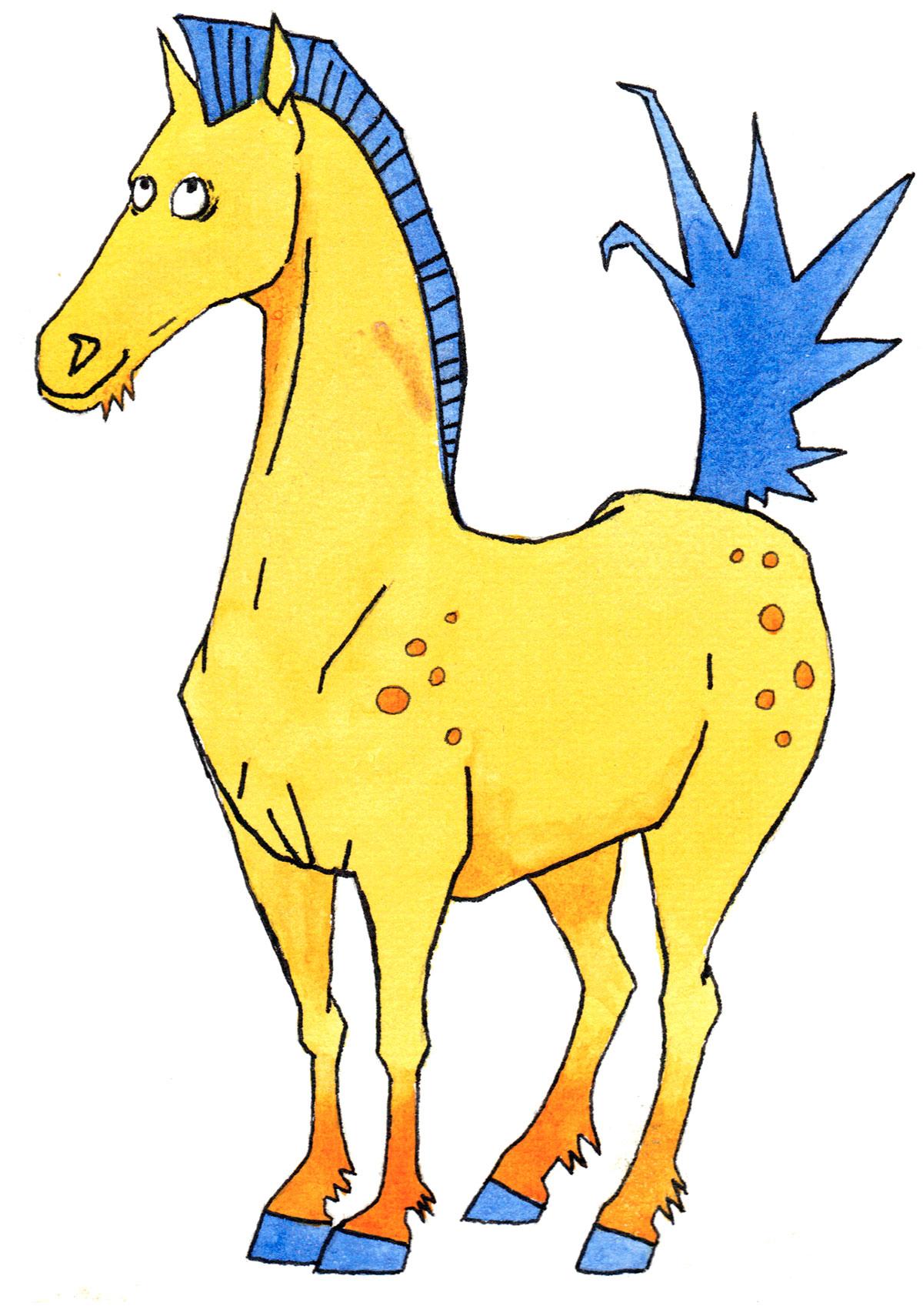 Chinesische Tierzeichen - Das Pferd