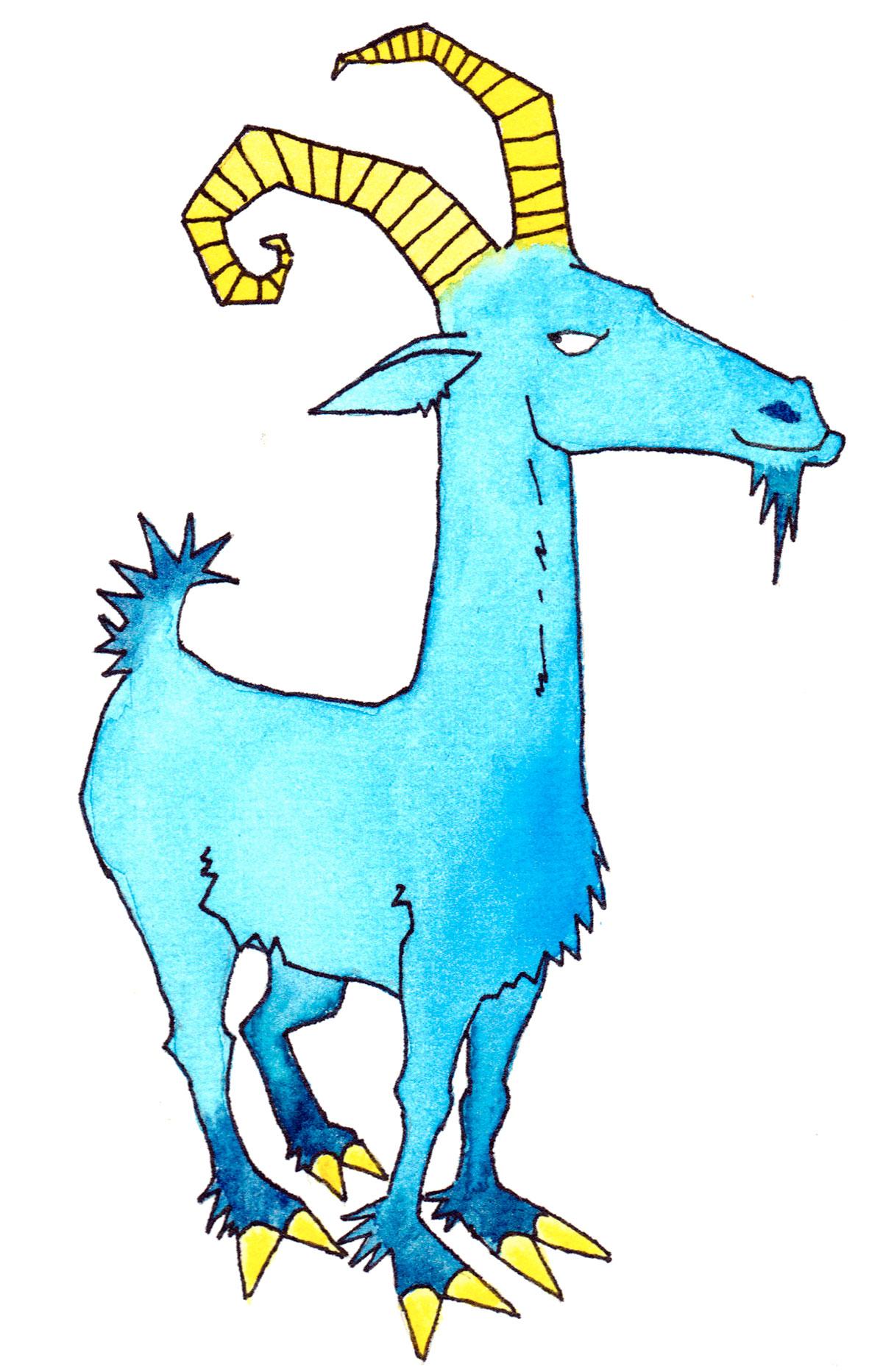 Chinesische Tierzeichen - Ziege