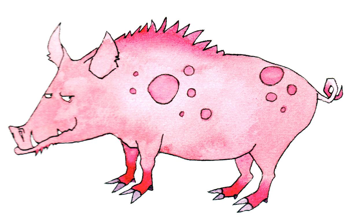 Chinesische Tierzeichen - Das Schwein